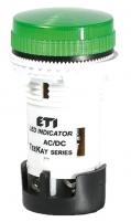 Лампа сигнальная LED матовая TT02T1 12V AC/DC (зеленая) 54мм арт.004770738