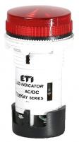 Лампа сигнальная LED матовая TT01U1 24V AC/DC (красная) 54мм арт.004770743