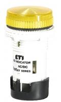 Лампа сигнальная LED матовая TT04U1 24V AC/DC (желтая) 54мм арт.004770745