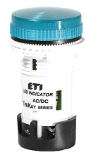 Лампа сигнальная LED матовая TT06U1 24V AC/DC (синяя) 54мм