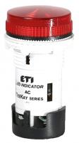 Лампа сигнальная LED матовая TT01X1 240V AC (красная) 54мм арт.004770761