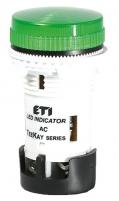 Лампа сигнальная LED матовая TT02X1 240V AC (зеленая) 54мм арт.004770762