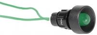 Лампа сигнальная LS LED 10 G 24 (10мм, 24V AC, зеленая) арт.004770807