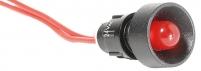 Лампа сигнальная LS LED 10 R 24 (10мм, 24V AC, красная) арт.004770808