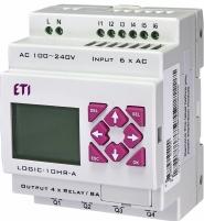 ПЛК LOGIC-10HR-A_100-240V AC_6I/4O-Rele арт.004780001