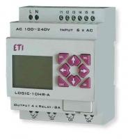 ПЛК LOGIC-20HT-D_24V DC_8-4I/8O-Tranzistor арт.004780006