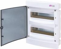 Щит внутренний распределительный ECМ 24PT (24мод.прозр.дверь) арт. 1101012