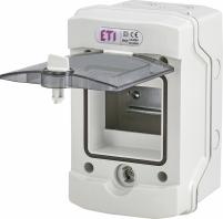 Пластиковый щит ECH 4G (4мод.нар.исп.IP65) арт. 1101060