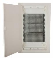 Щит металлопластиковый ECG42 MEDIA-PO (перф.панель, пластик.бел.дверь) арт.1101191