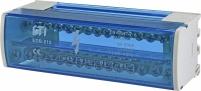 Блок распределительный EDB-215 2p 125A (15выходов) арт. 1102302
