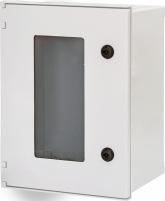 Шкаф полиэстеровый EPC-W 40-30-20 IP66 (с окном) арт.1102609