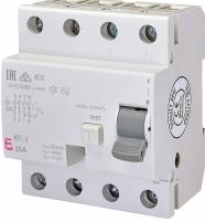 Реле дифференциальное (УЗО) EFI-4 25/0,03 AC (10kA) арт.2062142