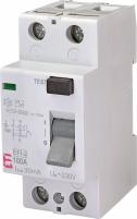 Реле дифференциальное (УЗО) EFI-2 100/0,03 AC (10kA) арт.2062531