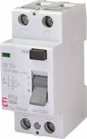 Реле дифференциальное (УЗО) EFI-2 100/0,1 AC (10kA) арт.2062533