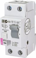Реле дифференциальное (УЗО) EFI-2 16/0,1 AC (10kA) арт.2063121