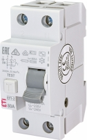 Реле дифференциальное (УЗО) EFI-2 80/0,3 AC (10kA) арт.2064125