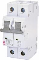 Автоматический выключатель ETIMAT 6 2p В 10А (6 kA) арт.2113514
