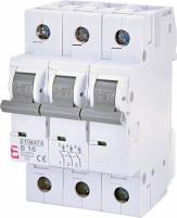 Автоматический выключатель ETIMAT 6 3p B 16А (6 kA) арт.2115516