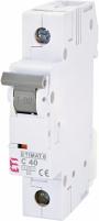 Автоматический выключатель ETIMAT 6 1p С 40А (6 kA) арт.2141520