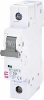 Автоматический выключатель ETIMAT 6 1p С 50А (6 kA) арт.2141521