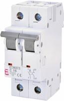 Автоматический выключатель ETIMAT 6 1p+N С 16А (6 kA) арт.2142516