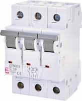 Автоматический выключатель ETIMAT 6 3p C 16А (6 kA) арт.2145516