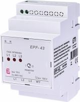 Реле автоматического выбора фаз EPF-43 230/400V (180V AC) арт. 2470280