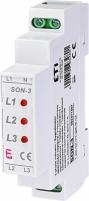 Трехфазный индикатор наличия напряжения SON-3 арт. 2471407