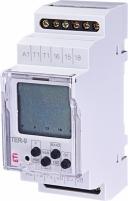 Многофункциональный цифровой термостат+цифровой таймер TER-9 24V AC/DC (2x16A_AC1) арт. 2471803