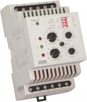 Двухуровневое реле контроля тока PRI-41 24V AC/DC (3 диапазона) (2x16A_AC1) арт. 2471840