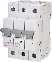 Авт. выключатель ETIMAT P10 3p Z 1A (10kA) арт.270134106