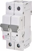 Авт. выключатель ETIMAT P10 1p+N D 2A (10kA) арт.270212103