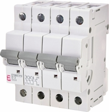 Авт. выключатель ETIMAT P10 3p+N D 3A (10kA) арт.270342107