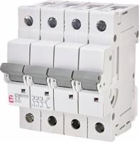Авт. выключатель ETIMAT P10 3p+N Z 6A (10kA) арт.270644108