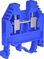 Клемма винтовая-нейтральная VS 4 PA N  (4 mm2_синяя) арт. 3901038