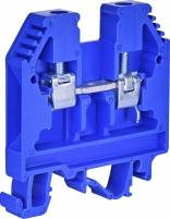 Клемма винтовая-нейтральная VS 6 PA N  (6 mm2_синяя) арт. 3901069