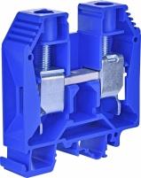 Клемма винтовая-нейтральная VS 35 PA N  (35 mm2_синяя) арт. 3901158