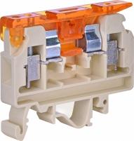 Клемма винтовая под предохранитель с держателем VSV 4  (4 mm2_бежевая) арт. 3901360
