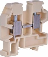 Клемма винтовая mini VS 4 PAM  (4 mm2_бежевая) арт. 3901442