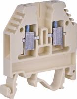 Клемма винтовая под предохранитель с втулкой VSV 4 PA  (4 mm2_бежевая) арт. 3901699