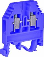 Клемма винтовая-нейтральная под держатель VSV 4 PA N  (4 mm2_синяя) арт.3901700
