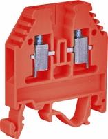 Клемма винтовая-питание под держатель VSV 4 PA +  (4 mm2_красная) арт.3901701