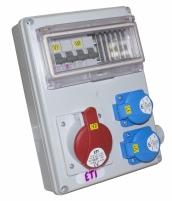 Промышленный распределительный щит EDS8 2-2/1-5 32 арт.4483251