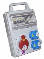 Промышленный распределительный щит EDS8H 2-2/1-5 16 арт.4483280