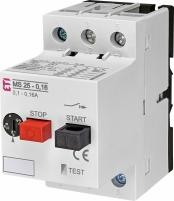 Автоматический выключатель защиты двигателя MS25-0-16 арт. 4600010