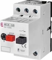 Автоматический выключатель защиты двигателя MS25-0-63 арт. 4600040