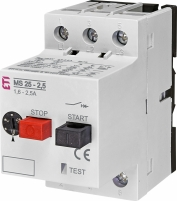 Автоматический выключатель защиты двигателя MS25-2-5 арт. 4600070