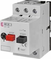 Автоматический выключатель защиты двигателя MS25-4 арт. 4600080