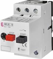 Автоматический выключатель защиты двигателя MS25-10 арт. 4600100