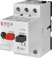 Автоматический выключатель защиты двигателя MS25-20 арт. 4600120